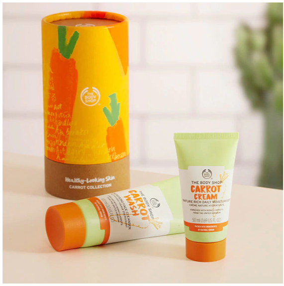 Healthy Looking Skin Carrot Collection 2020 The Body Shop Cyprus