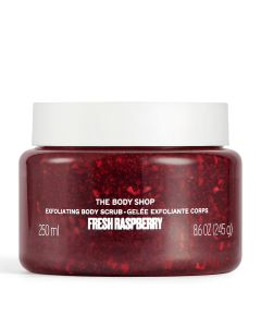 Fresh Raspberry Gel Body Scrub