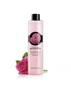 British Rose Petal-Soft Bath Foam