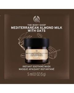 Mediterranean Almond Milk with Oats Instant Soothing Mask Packet