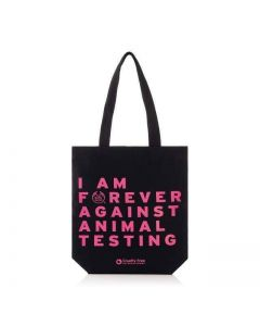 Forever Against Animal Testing Tote Bag For Life