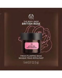 British Rose Fresh Plumping Mask Packet