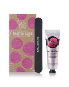 Petal-Soft British Rose Hand & Nail Set