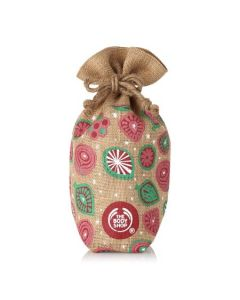 Small Community Trade Jute Gift Pouch