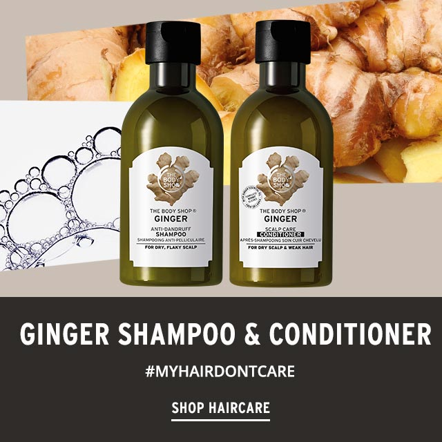 Ginger Shampoo & Conditioner